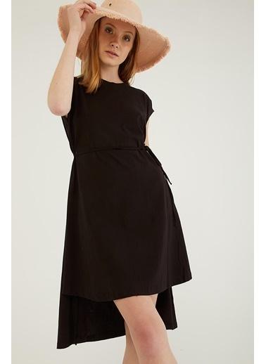 Modaset Elbise Siyah